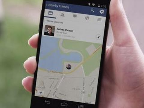 CNET Update - Hide from, seek out nearby friends on Facebook