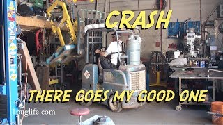 stink bug floor pan pt 2 and shop accident
