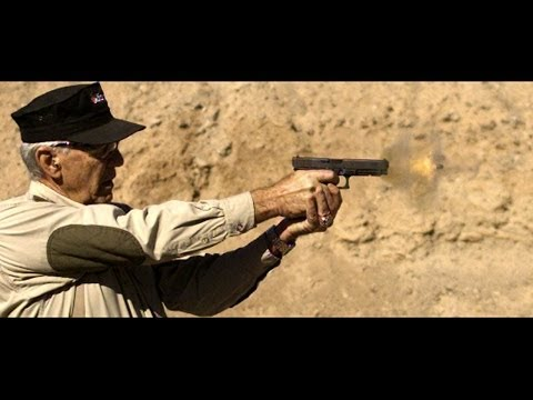 Gunny Firing the Glock 41 - Slow Motion