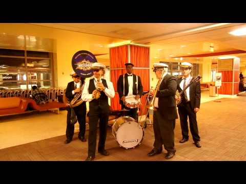 Orleans Brass Band Performs John Cenas Entrance Song