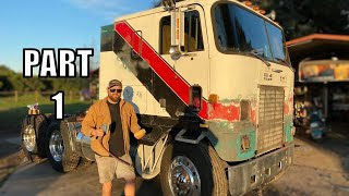 Giving The Cabover A BACKYARD Paint JOB!