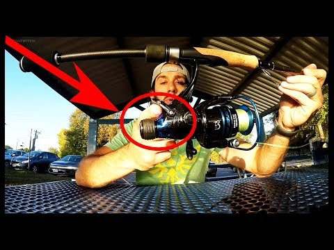 What Does This Do? New Spinning Reel Technology?! KastKing Pontus Baitfeeder Spinning Reel