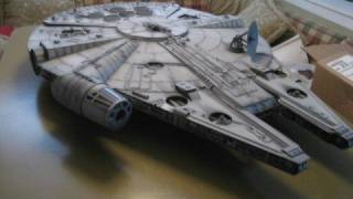 Star Wars Millennium Falcon Made Of Paper
