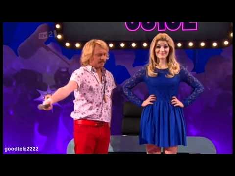 Holly Willoughby's Jackson Five Bush - Celebrity Juice