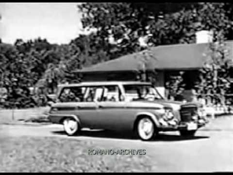 1963 Studebaker Wagonaire TV - Commercial