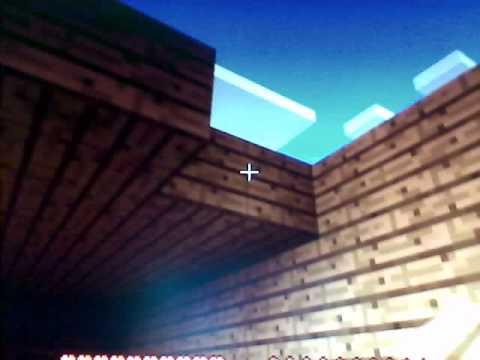 Como hacer un techo rapido en minecraft youtube for Como encielar un techo
