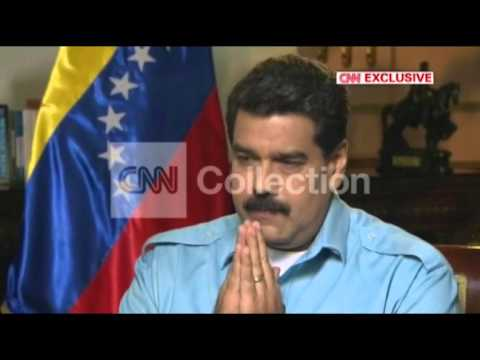 CNN EXCLUSIVE:AMANPOUR VENEZUELA MADURO OPPOSITION