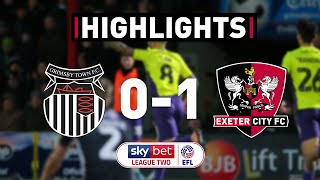 HIGHLIGHTS: Grimsby Town 0 Exeter City 1 (18/1/20) EFL Sky Bet League Two