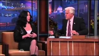 Cher on The Tonight Show with Jay Leno (24.11.2010) part 2