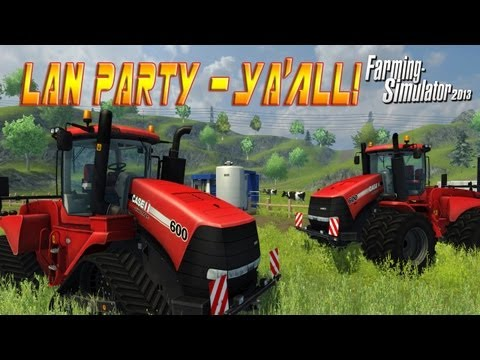 Farm Simulator 2013 with Freddiew and Corridordigital on LAN Party - NODE
