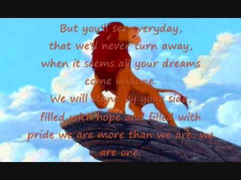 Lion King 2 songs - YouTube