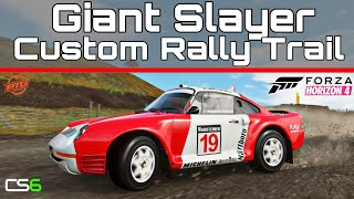 Fortune Island - Giant Slayer Rally Trail Custom Route Creator - Forza Horizon 4