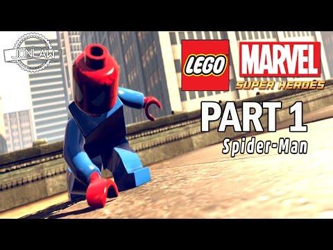 Lego Marvel Super Heroes Walkthrough - Part 1 - PS4 Gameplay