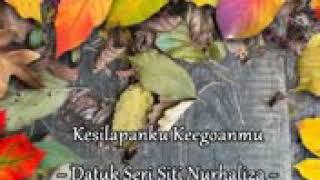 DS Siti NurHaliza - Kesilapanku Keogoanmu lirik ( OST Lafazkan Kalimah Cintamu)