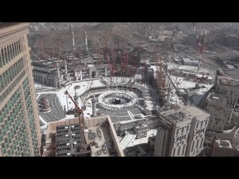 New construction of Masjid Al Haram (full HD)