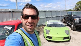 Unveiling my NEW Salvage Supercar Rebuild Project! But an Unofficial Tesla Technician STOPS ME!