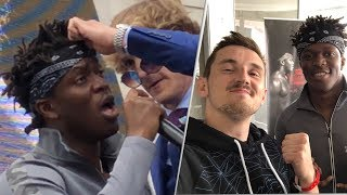 KSI vs LOGAN PAUL - Behind The Scenes Press Conference!
