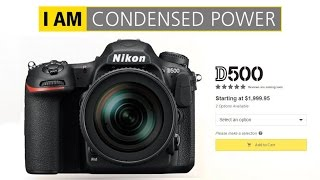 Nikon D500... KING OF APS-C DSLR CAMERAS (9 Reasons WHY) - Nikon D300 Successor