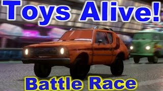 Cars 2: The video game ☆ GREM ☆ Battle Race on Ginza Sprint.