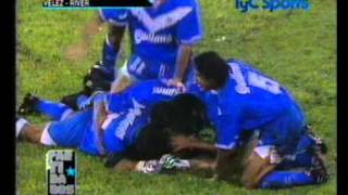 1996 CHILAVERT-Gol a Burgos (Vélez vs River)