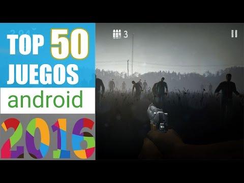 TOP 50 MEJORES JUEGOS PARA ANDROID 2016 GRATIS