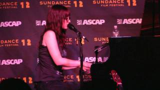 "Ingrid Michaelson- ""End of the World"" (720p HD) Live at Sundance on January 26, 2012"