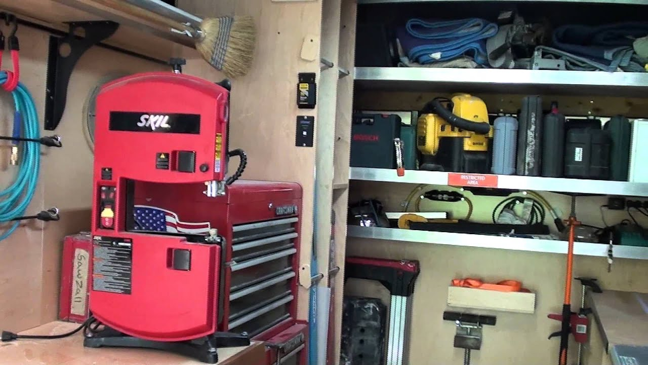 Tricked Out Woodworking Box Truck Youtube