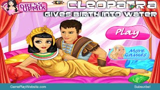 Princess Cleopatra Gives Birth into Water Online Game - Girl Baby Maternity Games