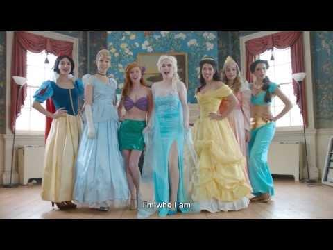 冰雪奇緣 艾莎 真人版音樂劇「我不需要男人」 feat. 迪士尼公主