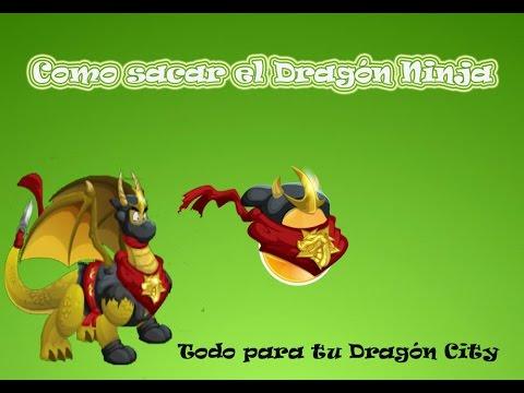 Dragón City - Como sacar el Dragón Ninja - [Bien explicado][Fácil y Rápido]