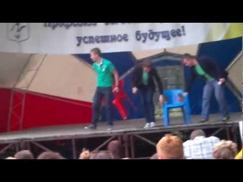 КВН. Капустник. Приветствие. Олимп-2012 (1 смена). II часть
