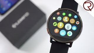 LEMFO LEM X Smartwatch - First Look and Hands On - 4G, Android 7.1, 900mAh battery