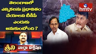 Why Does TDP Want to Influence the Elections in Telangana ? | News Analysis with Srini | hmtv