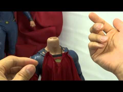How to install Tony Mei's custom MOS Superman cape