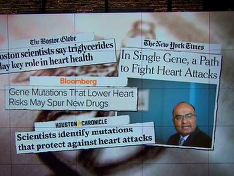 Gene mutation can ward off heart attacks, study shows