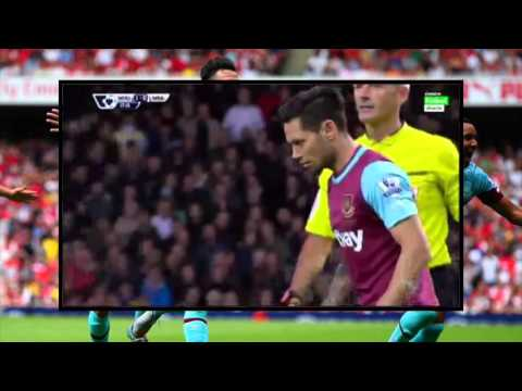 Mauro Zarate Amazing Free-kick goal |West Ham 1-0 WBA| 29/11/15