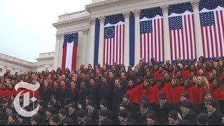 Inauguration 2013 Brooklyn Tabernacle Choir 39 Battle Hymn Of The Republic 39 The New York Times