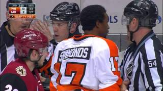 Gotta See It: Flyers fired up after Hanzal's hit on Giroux