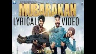 (LYRICS) Mubarakan Title Song Lyrical Video – BADSHAH , Yash , Juggy D