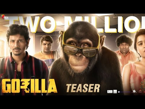 Gorilla - Official Teaser (Tamil) | Jiiva, Shalini Pandey | Yogi Babu, Sathish | Sam CS | Don Sandy