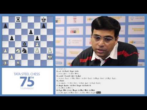 Tata Steel Chess 2013 - Analysis - Aronian vs Anand round 4