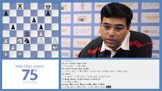 Tata Steel Chess 2013 - Analysis - Aronian v.s. Anand round 4