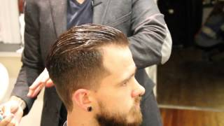 Pompadour Haircut - How To Cut A Pompadou ...