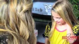 Mia Talerico at the Bad Hair Day Premiere Red Carpet #BadHairDay #DisneyChannelPR