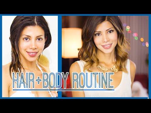 Hair & Body Beauty Routine!