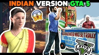 PLAYING INDIAN VERSION GTA 5 FOR ANDROID | BHAI THE GANGSTER FUNNY ANDROID HINDI GAMEPLAY | FINESTLY