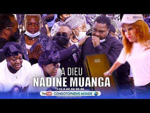 "TRISTE: Enterrement ya MUANA POTO AKUFI NA KIN ""NADINE MUANGA"" sa famille inconsolable na Cimetière"