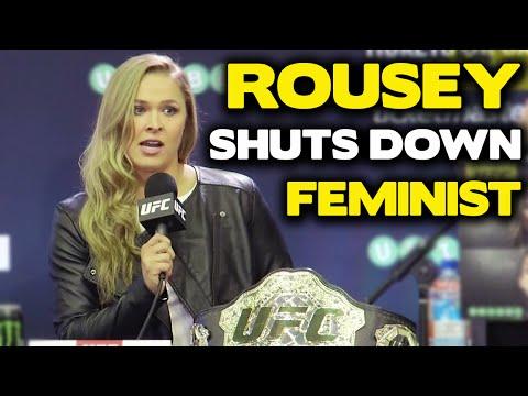Ronda Rousey Shuts Down Feminist