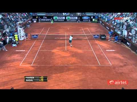 Rafael Nadal Vs David Ferrer Rome 2013 Highlights HD
