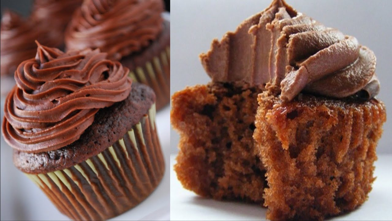 Cake Image With Name Bhavna : Eggless Chocolate CupCakes Video Recipe by Bhavna - YouTube